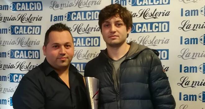 """Il #BomberdelMese Federico Roman: """"Un onore il mio nome fra i grandi!"""""""
