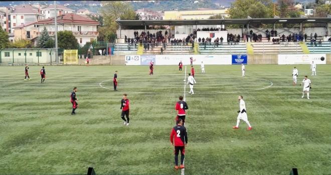 Derby Gelbison-Nocerina in parità: Manzo risponde a Liguori