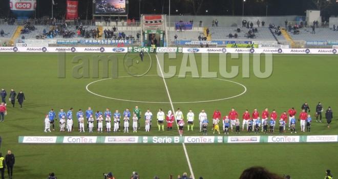 Novara-Perugia 1-1, gli azzurri non vincono più
