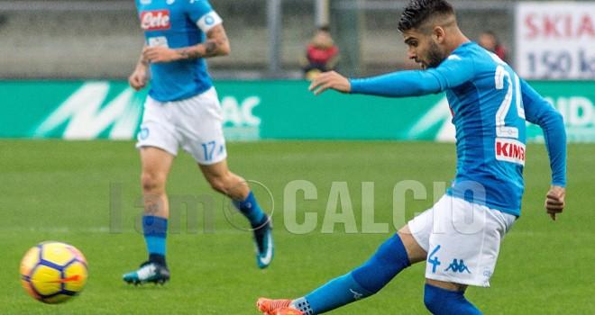 """Napoli, Insigne: """"Ci abbiamo sempre creduto. Ora testa allo Stadium"""""""