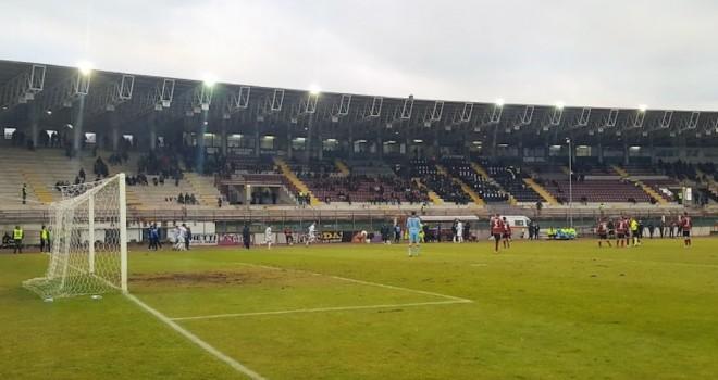 Sconfitto l'Arezzo in casa