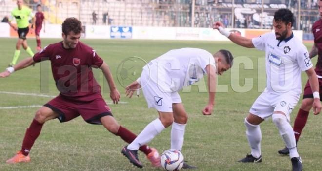 Cavese-Manfredonia, i convocati: fuori Manzo, recupera Massimo