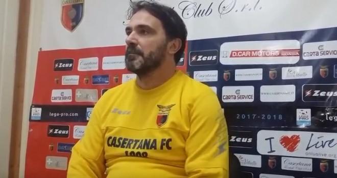 """VIDEO - Casertana. D'Angelo: """"Con il Bisceglie possiamo fare bene"""""""