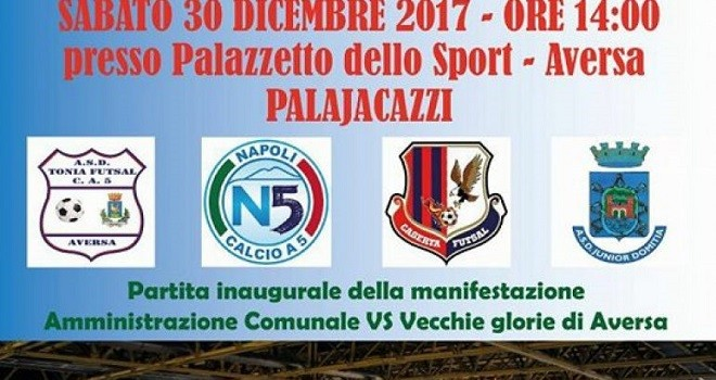 Calcio a 5. Un grande evento per Aversa, Caserta e Junior Domitia