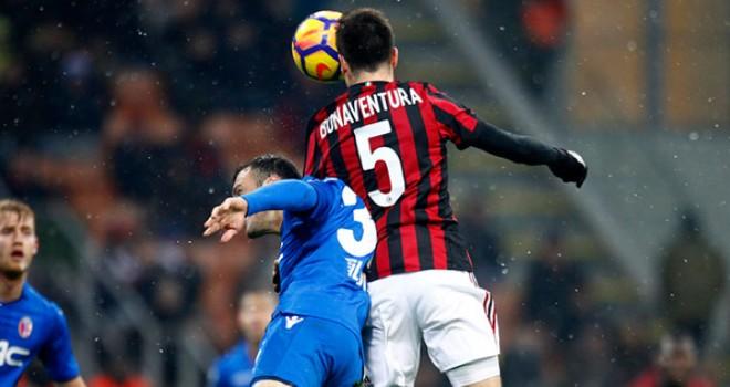 """Milan-Bologna 2-1, Bonaventura: """"3 punti che dovranno darci coraggio"""""""