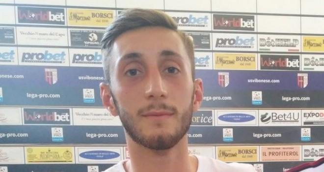 Cavese, arriva un ex Vibonese: firma il terzino Davide Frezzi