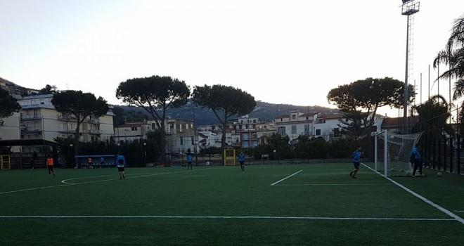 Sant'Agnello, test col Vico in vista della prima del 2018 col Solofra