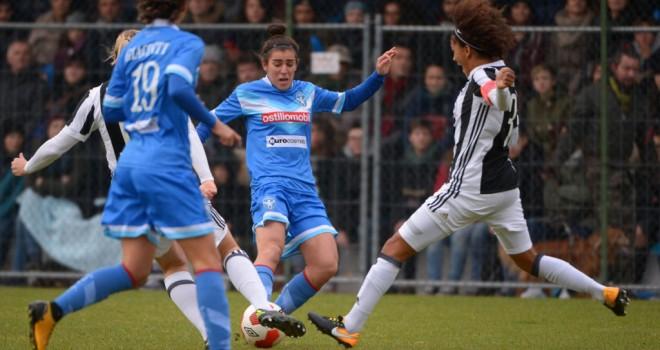 Brescia CF, contro la Juventus Women una brutta sconfitta