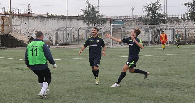 Romano non basta all'Olimpia Casalnuovo con il Puglianello termina 1-1