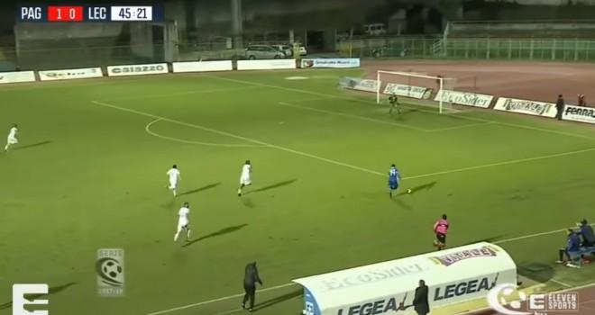 VIDEO - Gli highlights di Paganese-Lecce 1-1 a cura di Serie C Tv