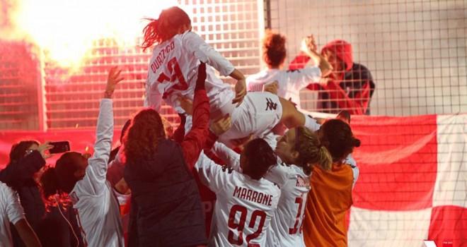 La Pink Bari Primavera è campione d'Italia! Battuta la quotata Juve