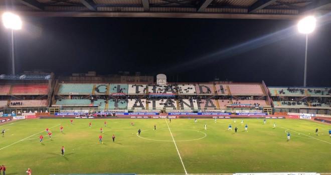 Catania-Matera: le formazioni ufficiali del match