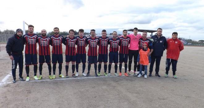 A. Acquaviva-Stornarella Calcio 1-1, dodicesimo punto in dodici gare
