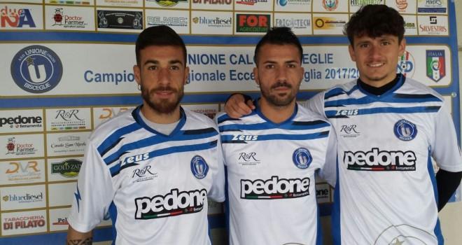 UFFICIALE - UC Bisceglie: arrivano tre nuovi calciatori