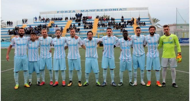 VIDEO - Manfredonia, buon punto contro il Taranto: 2-2 al Miramare