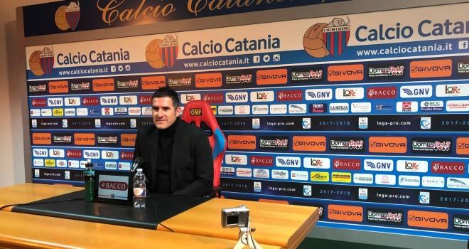 """Lucarelli:""""Rossazzurri ok, arbitro protagonista"""""""