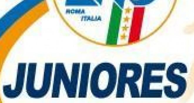 Juniores, sono 24 i convocati da Manniello per domani a Picerno
