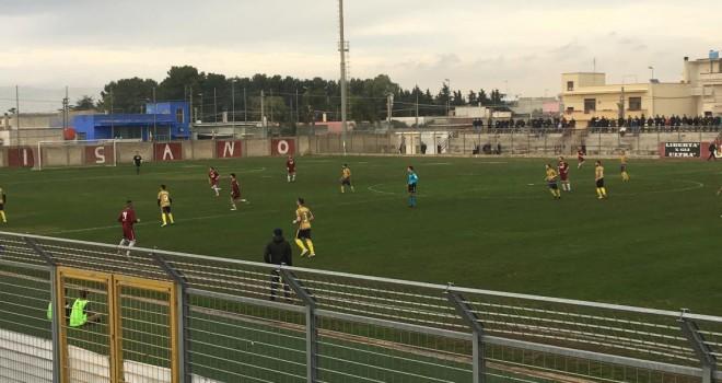 Taurisano-M.Campi: l'arbitro si confonde e chiude la gara in anticipo