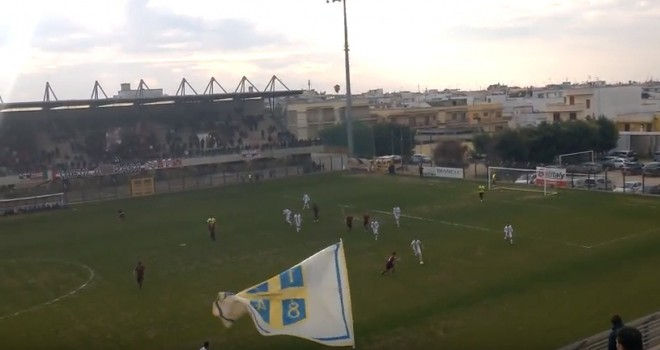 VIDEO - L'Audace Cerignola cade a Nardò: 2-1 granata