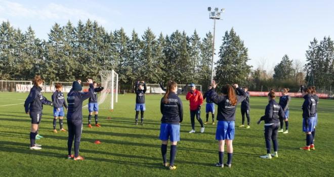 Allenamento Brescia CF