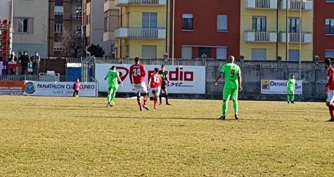 Cuneo-Giana Erminio 1-1, il tabellino