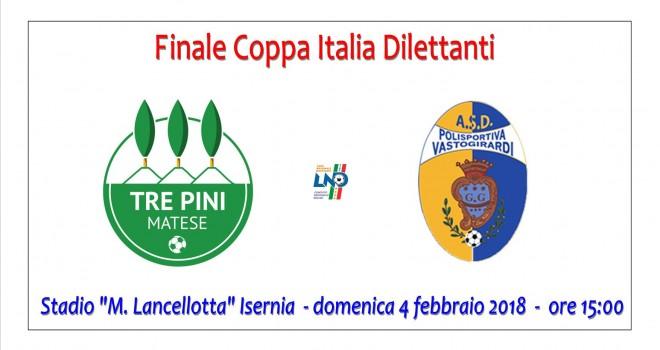 Tre Pini-Vastogirardi, scocca l'ora della finale di Coppa Italia