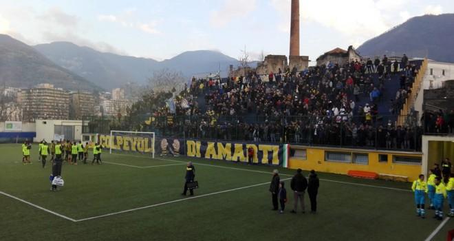 Gragnano-Potenza 1-3, Mansour illude i gialloblé poi il tris ospite
