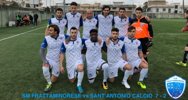 Vacca e Toure trascinatori della Frattaminorese contro il Sant'Antonio