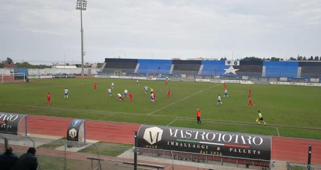 Termina a reti bianche il derby tra U.C Bisceglie e Molfetta