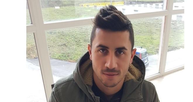 Il centrocampista Antonio Crucitti