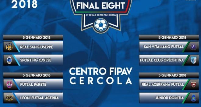 Calcio a 5/C1. Il nuovo anno parte con la Final Eight di Coppa
