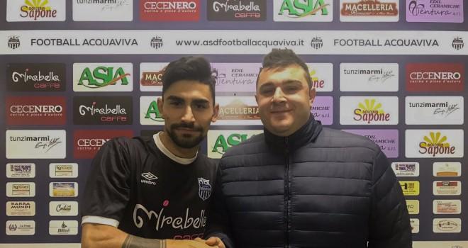 Nuovo rinforzo per la Football Acquaviva. In attacco firma Vasco