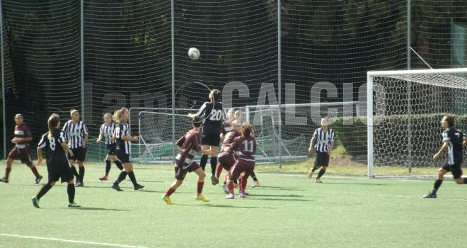 Romagnano femminile, con la Juventus sconfitta immeritata