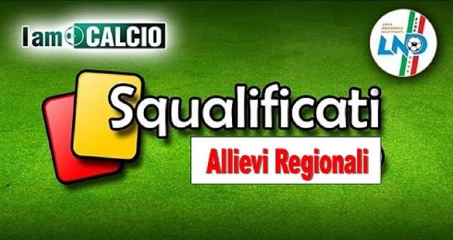 Campionato Regionale Allievi: le decisioni del Giudice Sportivo
