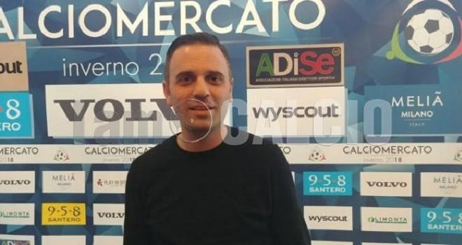 """LIVE MELIA' - Casertana. Martone: """"La priorità è il terzino sinistro"""""""