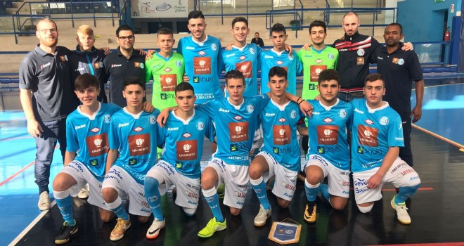 Lollo Caffè Napoli, settore giovanile: tris di vittorie, pari U19