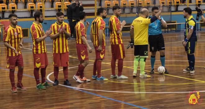 Sanniti F.S. Questo pomeriggio la trasferta contro il Boca Futsal