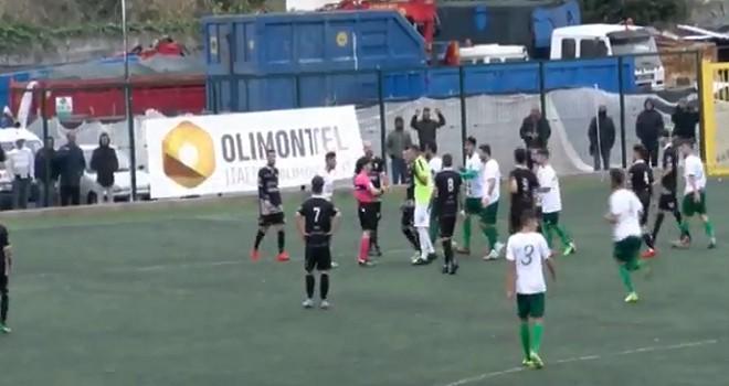 Real Forio-Savoia 3-1, biancoscudati in 10 per 70' e ko nel recupero