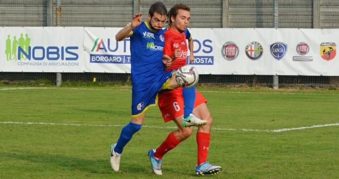 Borgaro d'applausi: Sardo regala l'1-1 al Franco Ossola di Varese