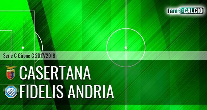 Casertana-Fidelis Andria: gli highlights dell'incontro