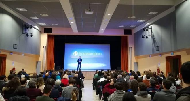 Il pubblico presente domenica a Fornaci