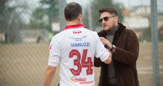 Il pres. Boniello con V. Iannuzzi