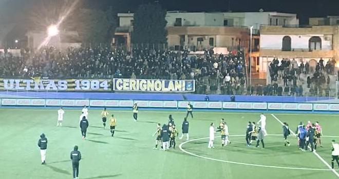 Serie D/H, dati spettatori: minimo a Mugnano, in aumento a Cerignola