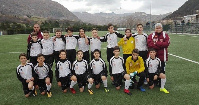 "Esordienti Provinciali Roccaravindola ""B""- Olympia Agnonese 0-3"
