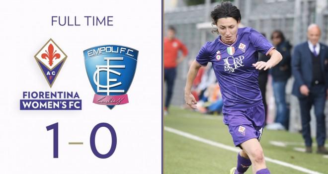 Linari firma la vittoria della Fiorentina nel derby contro Empoli