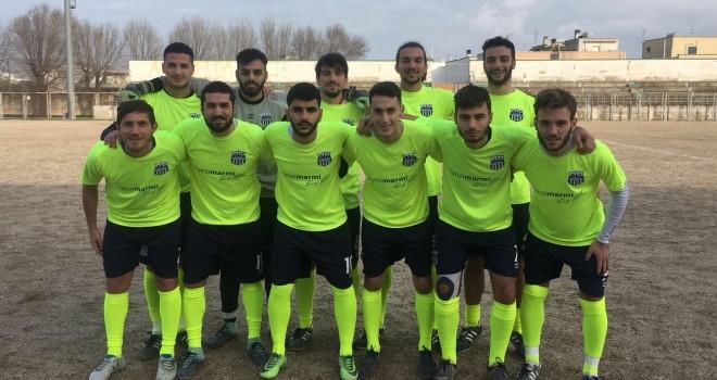 Football Acquaviva sconfitta di misura dal Santa Rita