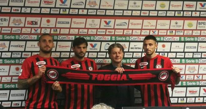 Foggia, ecco Tonucci, Greco e Zambelli. Le parole dei nuovi arrivi
