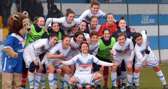 Brescia CF-Inter 5-1: le Leonesse volano ai quarti di Coppa Italia