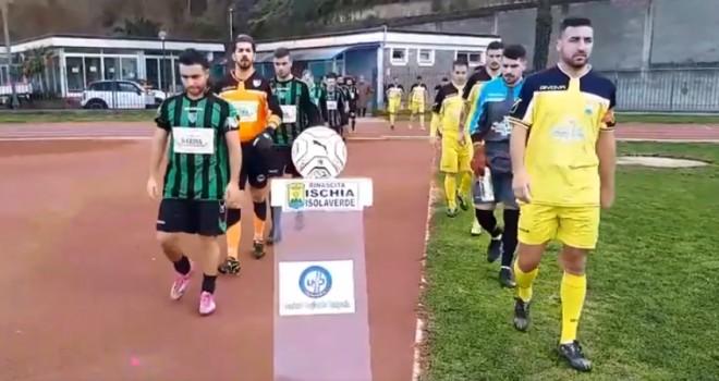 Rinascita Ischia-Boys Pianurese 1-0, un gol di Mendil decide la sfida