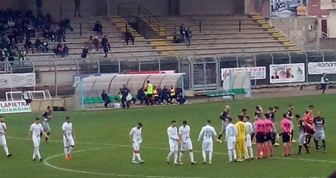 Monopoli-Catania 5-0, gli etnei si schiantano in Puglia!